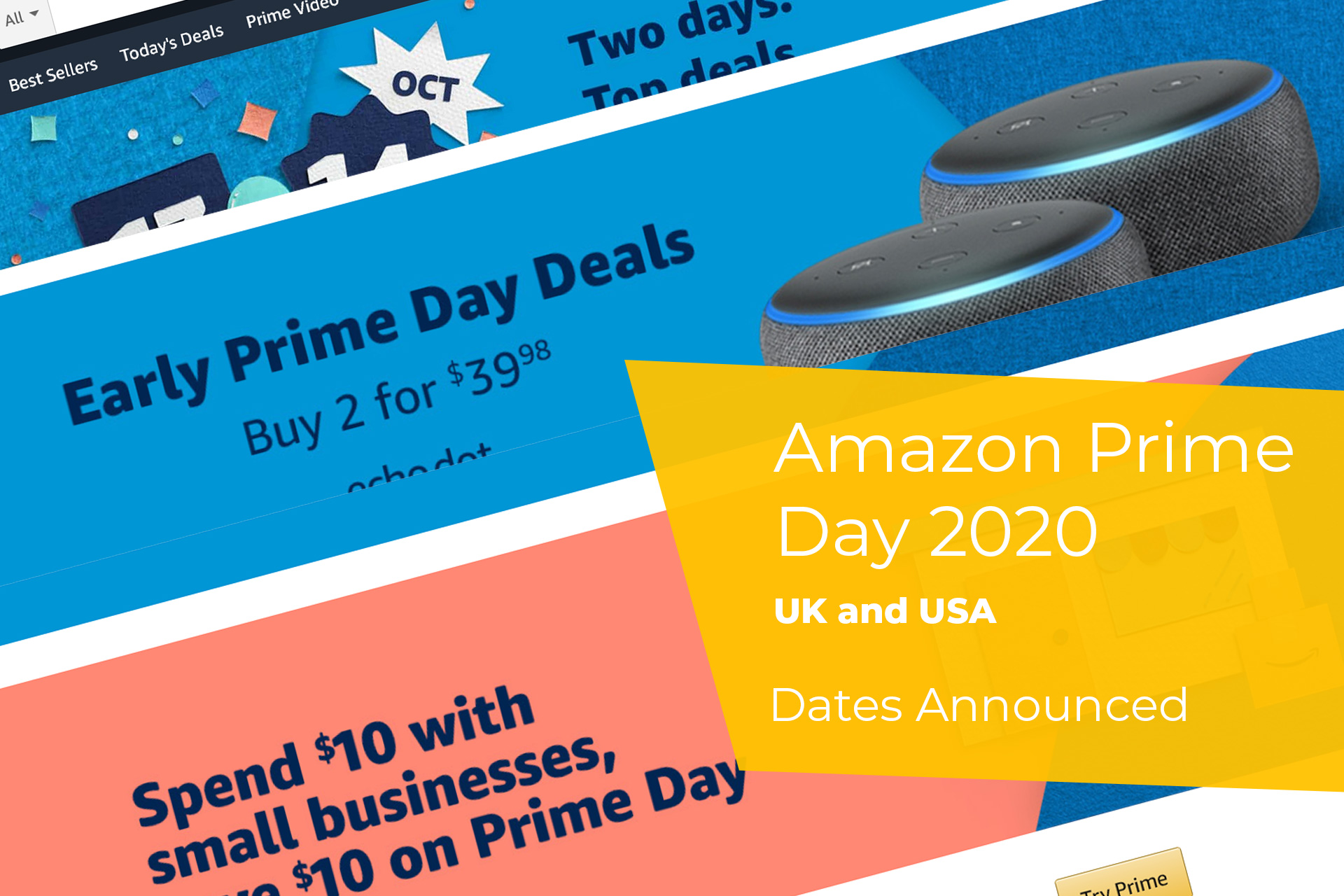 Amazon Prime Day UK and USA 2020 Dates Announced