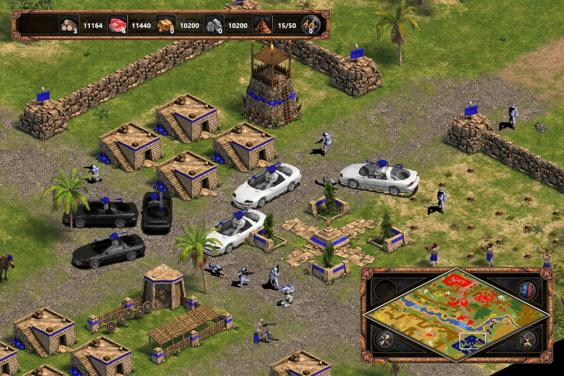 Age of Empires 1 - Cheat Codes