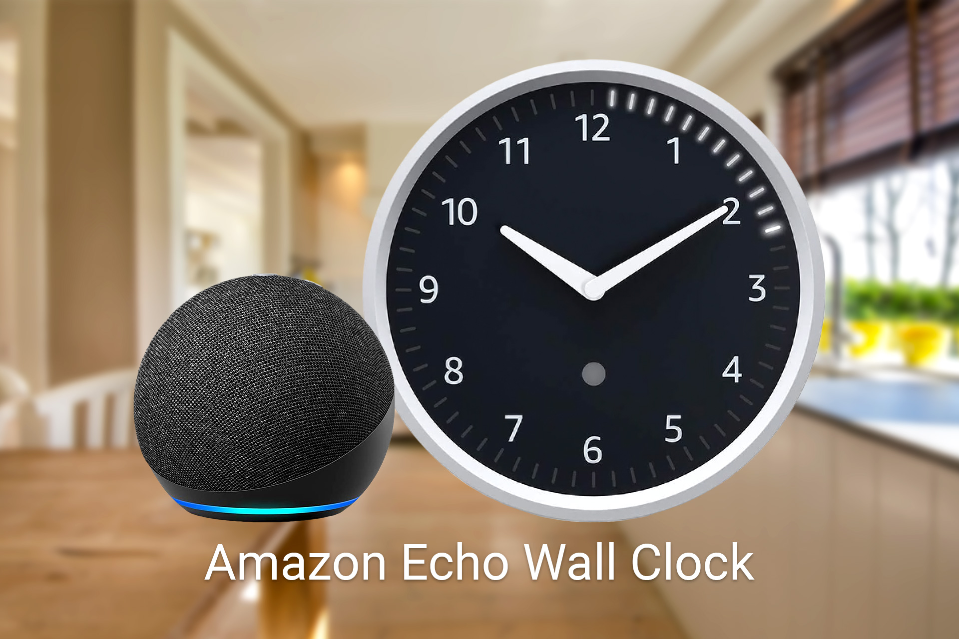 Amazon Echo Wall Clock - Review, at a glance featured image